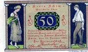 50 Pfennig (Achim) – avers
