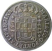 150 réis - Marie I – avers