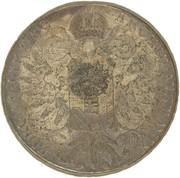 1200 réis (couronne G.P. contremarqué sur 1 thaler - Maria Theresa; Autriche) - Luis I – revers