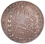 600 réis (640 réis - Pedro I; Brazil) - Luis I – revers