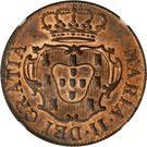 10 reis - Marie II – avers