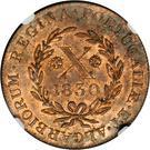 10 reis - Marie II – revers