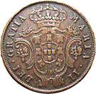 5 réis - Marie II – avers