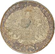 1200 réis (contremarqué sur 1 Thaler - Maria Theresa; Austria) - Luis I – revers