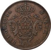10 réis - Marie II – avers