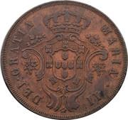 20 réis - Marie II – avers
