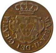 5 reis Marie II – avers