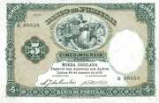 5000 Reis (5 Mil Reis) – avers