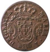5 réis -Marie I – avers