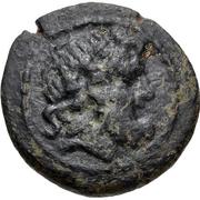 Bronze Æ18 (Adada) – avers