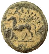Drachm Æ17 (Demeter - Horse) – revers