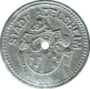10 pfennig - Adelsheim – avers