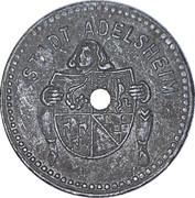 5 pfennig - Adelsheim – avers