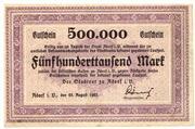 500,000 Mark (Adorf im Vogtland) – avers