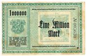 1,000,000 Mark (Adorf im Vogtland) – revers