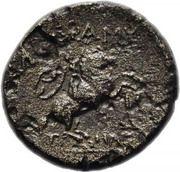 Obol - Zeus, Horseman (Adramytion, Mysia) – revers