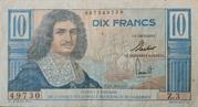 10 Francs Type 1957 AEF et Cameroun – avers