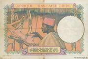 5 francs Afrique Française Libre – revers