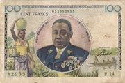 100 Francs de l' AEF et Cameroun – avers