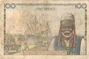 100 Francs de l' AEF et Cameroun – revers
