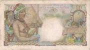 50 francs D'Esnambuc – revers