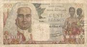 100 Francs La Bourbonnais – avers