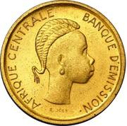 40 francs – revers