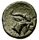 Bronze Æ10 (Aegae) – revers