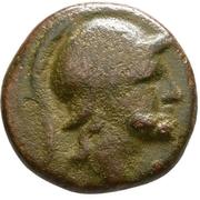 Bronze Æ16 (Aegae) – avers