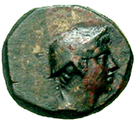 Bronze Æ13 (Aegae) – avers