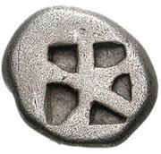 Triobol - Aegina – revers