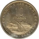 10 francs (essai) – revers