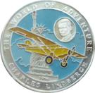 500 Afghanis (Charles Lindbergh) – avers