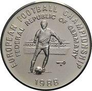 500 afghanis (Championnat d'Europe de football - Allemagne 1988) – revers