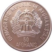 50 afghanis (Deinotherium giganteum) -  avers