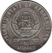 50 afghanis Sommet mondial de l'alimentation 1996 -  avers
