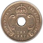 10 cents - Edward VIII -  avers