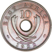 10 cents - George V -  revers