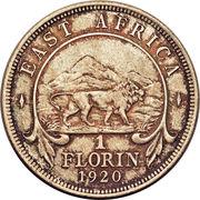 1 florin - George V – revers
