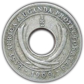 ½ cent - Edward VII -  revers