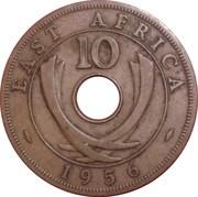 10 cents - Elizabeth II -  revers