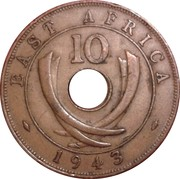 10 cents - George VI -  revers