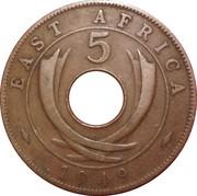 5 cents - George VI -  revers