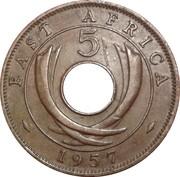 5 cents - Elizabeth II -  revers