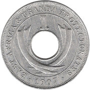 1 cent - Edward VII – revers