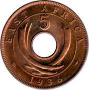 5 cents - Edward VIII – revers