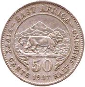 50 cents - George VI -  revers