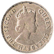 50 cents - Elizabeth II -  avers