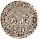 50 cents - Elizabeth II – revers