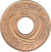 1 cent - George VI -  revers